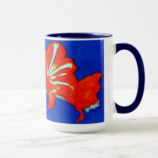 Mondrian Amaryllis Mug