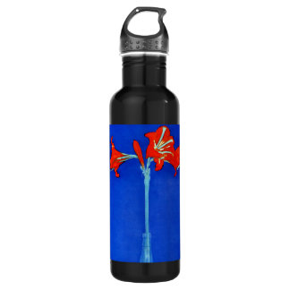 Mondrian Amaryllis Stainless Steel Water Bottle