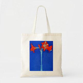 Mondrian Amaryllis Tote Bag