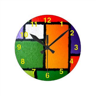 Mondrian borroso #3 relojes