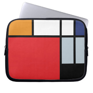 Mondrian - Composition With Large Red Plane Laptop Computer Sleeve
