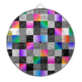 Mondrian Couture Dartboards