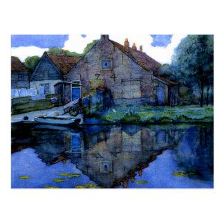 Mondrian - House on the Gein Postcard