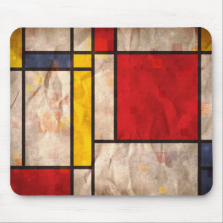 Mondrian Inspired Mouse Pad
