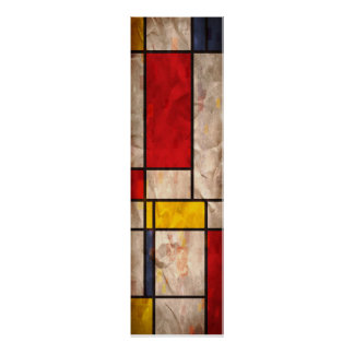 Mondrian inspiró poster