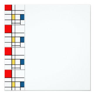 Mondrian Invitation Suite
