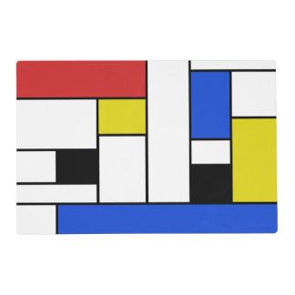 Mondrian Lines Placemat