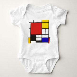 Mondrian Mameluco De Bebé