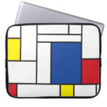 Mondrian Minimalist De Stijl Art Electronics Bag Computer Sleeve Cases