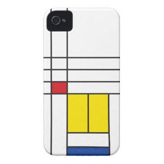 Mondrian Minimalist De Stijl Art iPhone 4 CaseMate iPhone 4 Covers