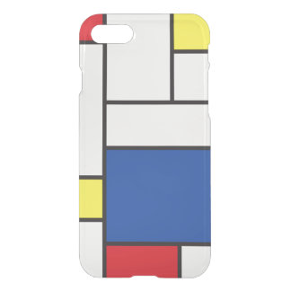 Mondrian Minimalist De Stijl Art iPhone 7 case
