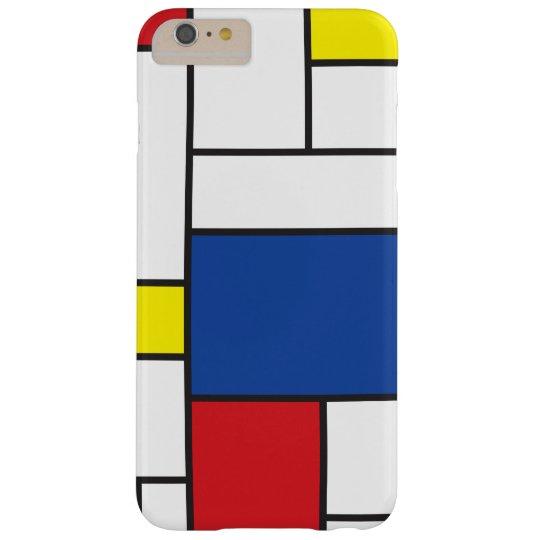 Mondrian Minimalist De Stijl Art iPhone CaseMate Barely There iPhone 6 Plus Case