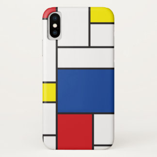 Mondrian Minimalist De Stijl Art iPhone CaseMate iPhone X Case