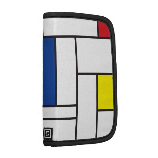 Mondrian Minimalist De Stijl Art Rickshaw Folio Planners