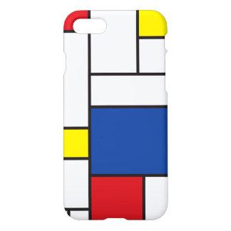 Mondrian Minimalist De Stijl Modern Art Case