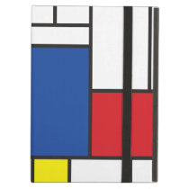 Mondrian Minimalist De Stijl Modern Art Custom iPad Air Case