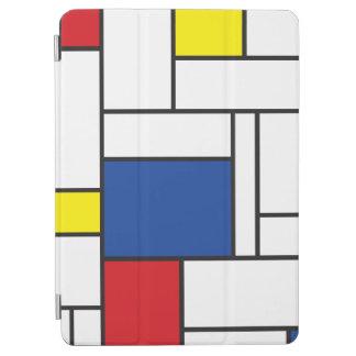 Mondrian Minimalist De Stijl Modern Art iPad Cover