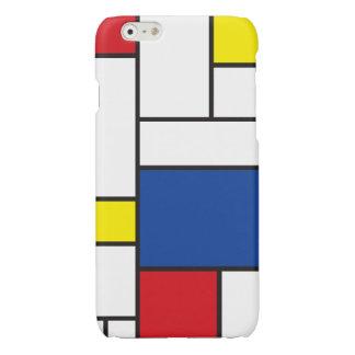 Mondrian Minimalist De Stijl Modern Art iPhoneCase Glossy iPhone 6 Case