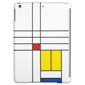 Mondrian Minimalist De Stijl Modern Art Simple iPad Air Cases