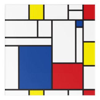 Mondrian Minimalist De Stijl Modern Art Wall Art