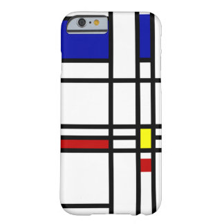Mondrian Modern Art Barely There iPhone 6 Case