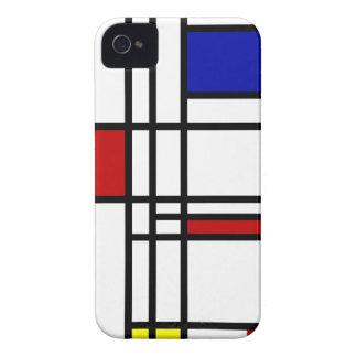 Mondrian Modern Art iPhone 4 Cover