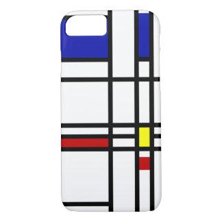 Mondrian Modern Art iPhone 8/7 Case