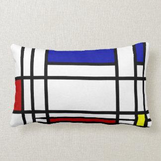 Mondrian Modern Art Throw Pillow