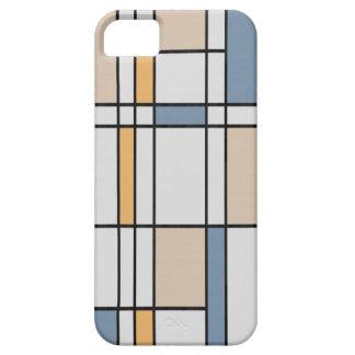 Mondrian moderno iPhone 5 Case-Mate carcasa