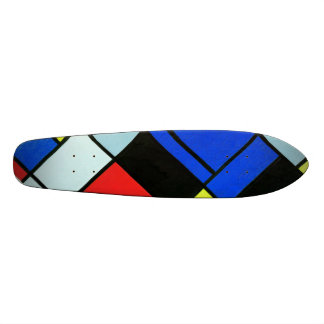 "Mondrian ""Old School"" skateboard"