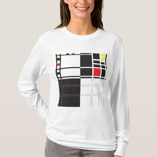 Mondrian Playera