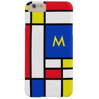Mondrian Red Yellow Blue iPhone 6+ Case