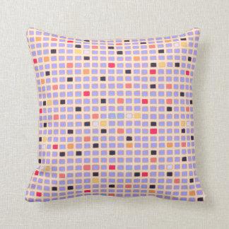Mondrian Style Abstract Square Art Cushion Throw Pillow