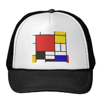 Mondrian Trucker Hat