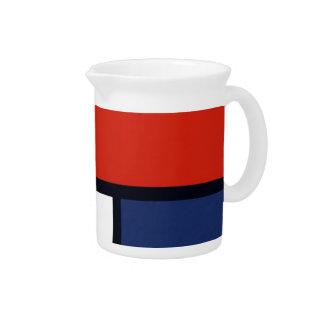 Mondrian Yorkie Beverage Pitcher