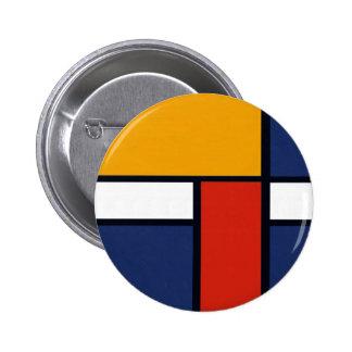 Mondrian Yorkie Pins
