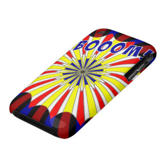 Mondrian's explosion fireworks Pop Art iPhone 3 Case-Mate Cases