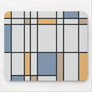 Mondrian's Modern Mouse Pad