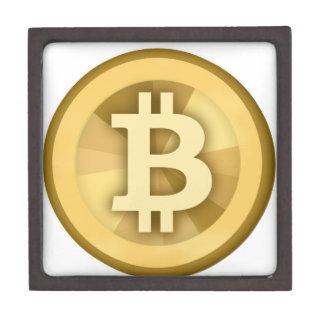 Moneda anónima BTC de DIGITAL del DINERO de BITCOI Caja De Recuerdo De Calidad