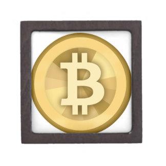 Moneda anónima BTC de DIGITAL del DINERO de BITCOI Caja De Joyas De Calidad