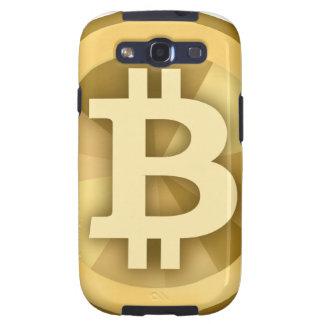 Moneda anónima BTC de DIGITAL del DINERO de BITCOI Samsung Galaxy S3 Fundas