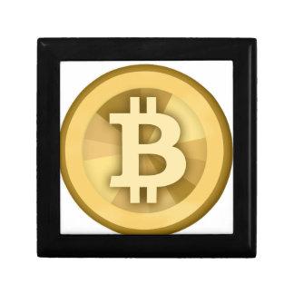 Moneda anónima BTC de DIGITAL del DINERO de BITCOI Cajas De Recuerdo