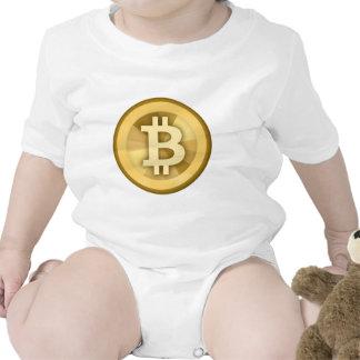 Moneda anónima BTC de DIGITAL del DINERO de BITCOI Camisetas