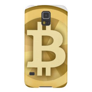 Moneda anónima BTC de DIGITAL del DINERO de Carcasas De Galaxy S5