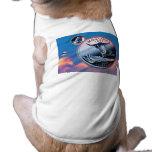 moneda - cielo camisetas de perro