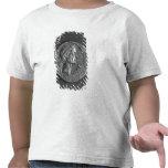 Moneda con un retrato de Julio César Camisetas