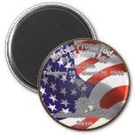 Moneda conmemorativa de Iwo Jima Iman De Frigorífico