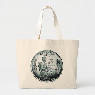 Moneda de Alabama - imagen Bolsas Lienzo