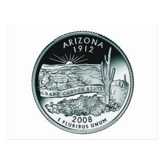Moneda de Arizona - imagen Tarjeta Postal