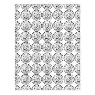 Moneda de diez centavos de Estados Unidos Roosevel Postales